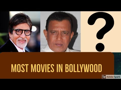 10 ACTORS WITH MOST BOLLYWOOD MOVIES