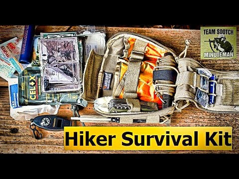 Minimal Hikers Survival Kit