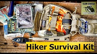 Minimal Hikers Survival Kit