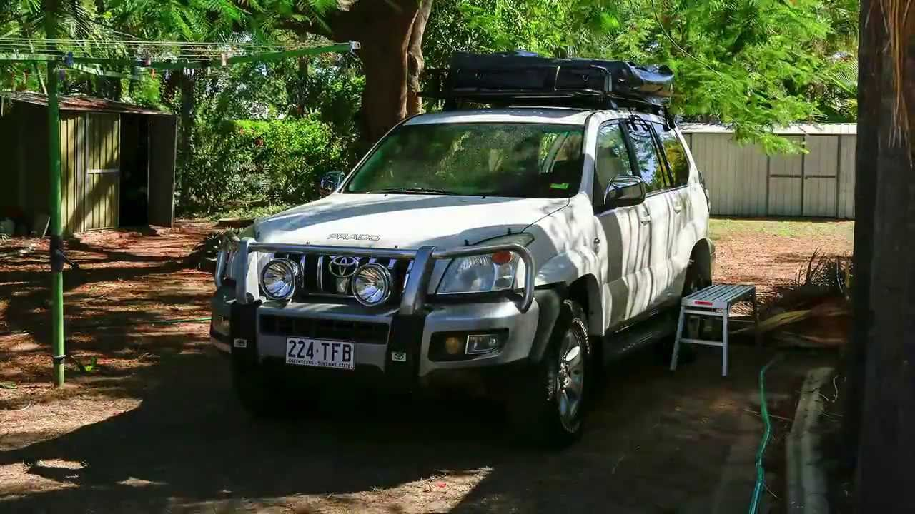 & Tigerz11 Tent Roof Rack and Rooftop Tent installation - YouTube