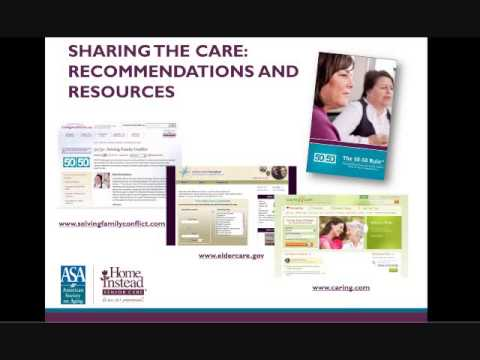 Solving Communication Issues Within Families — Professional Caregiver Webinar