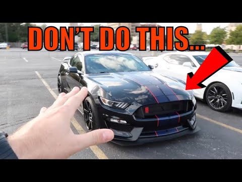 """HOW NOT TO BREAK IN A """"BRAND NEW"""" 2019 GT350r MUSTANG..."""