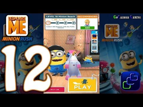 Despicable Me Minion Rush Android Walkthrough - Part 12 - Minion Beach: Level 15-18