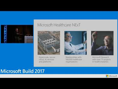 Build 2017 Creating connected healthcare applications using Microsoft HealthVault