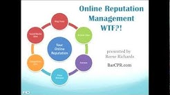 Online Reputation Management WTF?! How to Get and Market a 5-Star Reputation