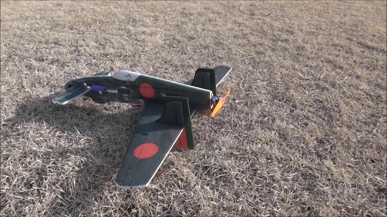 震電プロフィール機改 フライトに成功 - YouTube