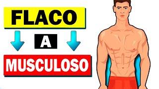 ✅ Haz Este Único Ejercicio si Quieres Pasar de FLACO a MUSCULOSO   Ganar Musculo