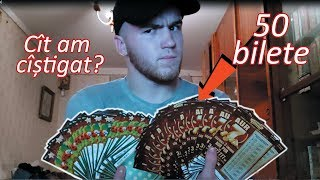 Sunt cel mai norocos din Moldova | 50 bilete de loterie Moldova | 50 лотерийных билетов молдова
