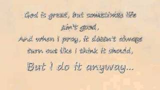 Martina McBride - Anyway (Lyrics)