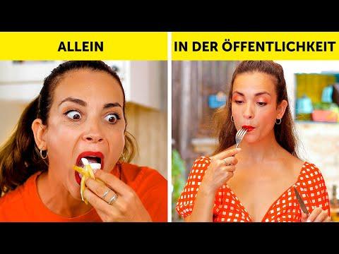 MÄDELS IN DER ÖFFENTLICHKEIT VS. ALLEINE || So reagierst du! by 123 GO!