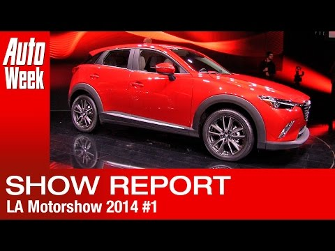 LA Motorshow 2014 report 1 - Maza, Jaguar, Mercedes-Maybach,