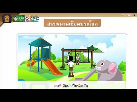 คำสรรพนาม - สื่อการเรียนการสอน ภาษาไทย ป.4