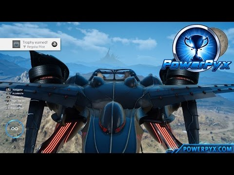 Final Fantasy XV - How to Unlock Regalia Type-F (Flying Car) - Regalia Pilot Trophy Guide