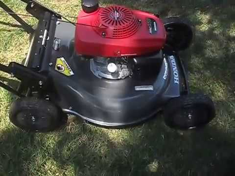Honda HRC216 Commercial Push Mower Review