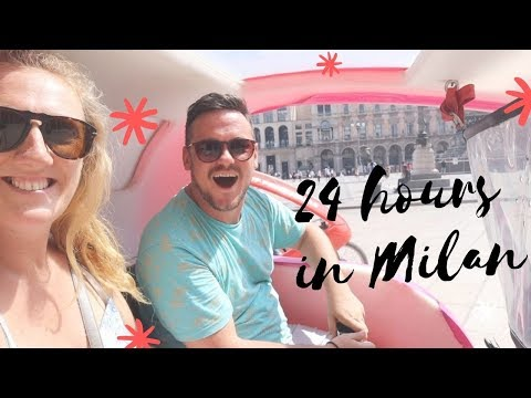 24 HOURS IN MILAN // ITALY TRAVEL VLOG 2019
