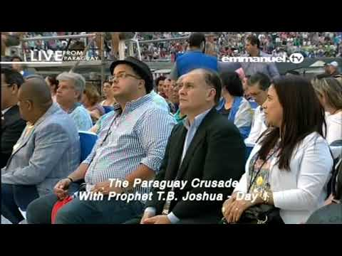 PROPHET TB JOSHUA CRUSADE IN PARAGUAY 11 08 2017 VIDEO 2