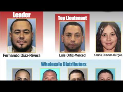Charges announced in drug ring takedown