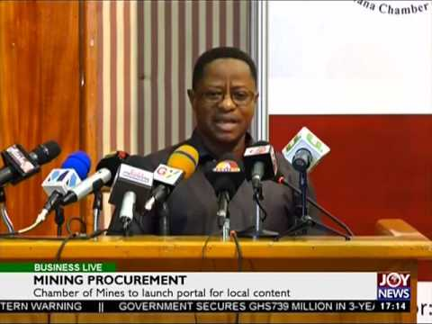 Mining Procurement - Business Live on JoyNews (2-6-17)