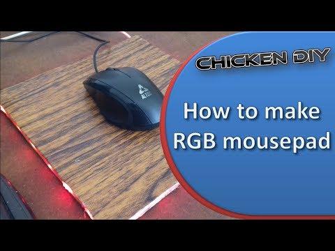 How to make RGB mousepad