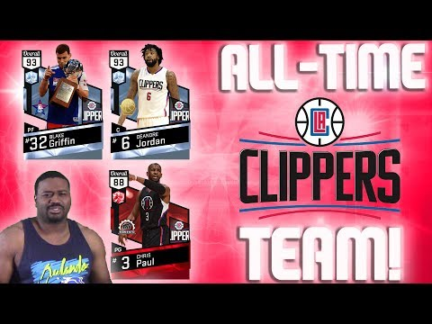 All-Time Los Angeles Clippers - Dunk after Dunk by Diamond Blake Griffin! - NBA 2K17 MyTeam Gameplay