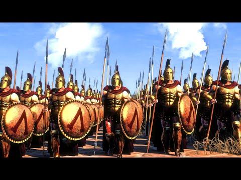 Sparta Vs Thrace | 16,000 Unit cinematic battle | Total War Rome II |