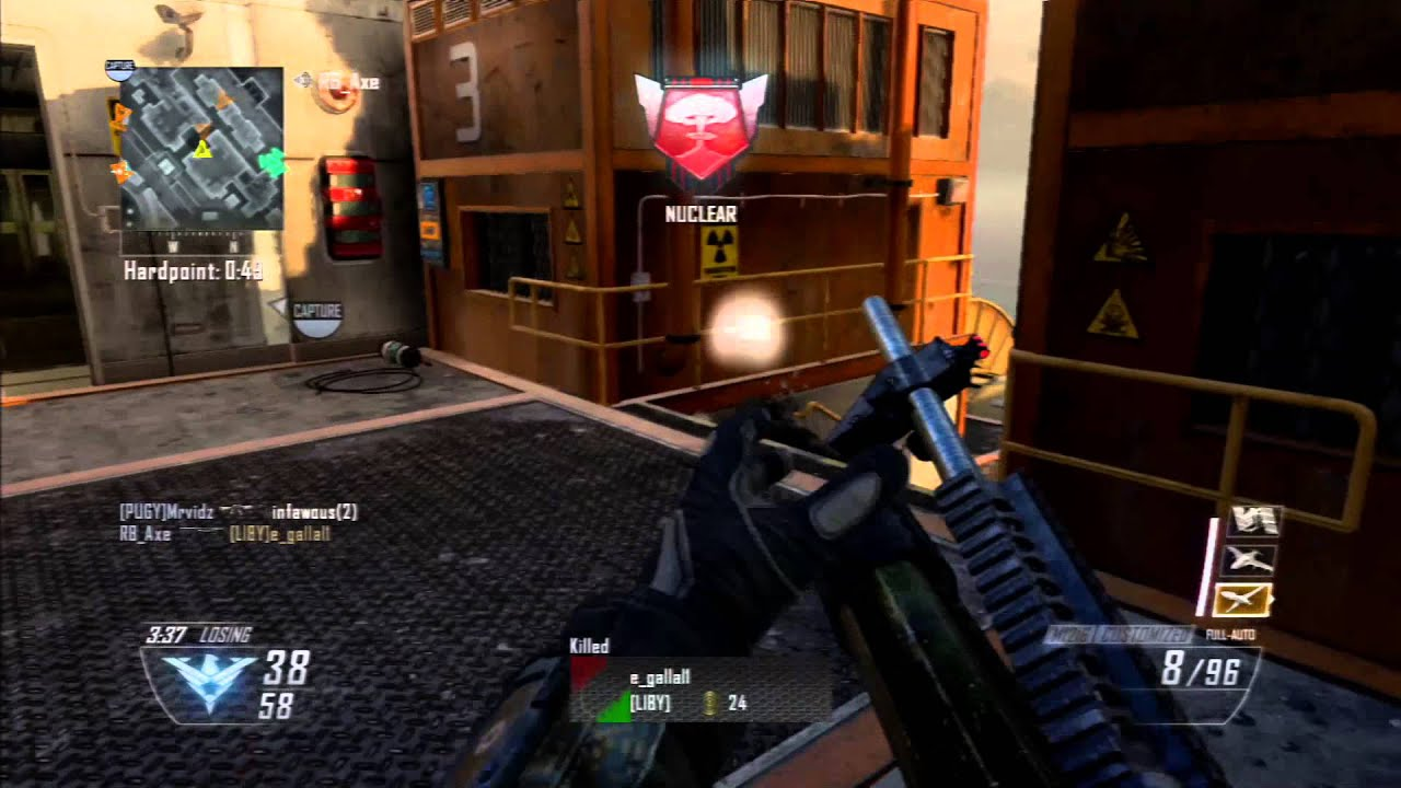 46 Gunstreak w/M1216 (Black Ops 2 Gameplay)-1 VÍDEO ... M1216 Black Ops 2