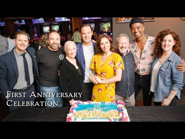 MY FAIR LADY celebrates 1 year on Broadway!