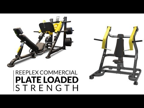 Commercial Plate Loaded Gym Equipment Demo - Dynamo Fitness Equipment