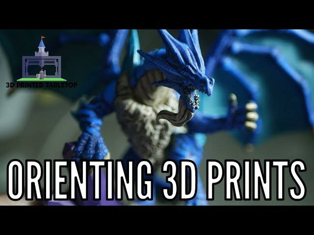 Orienting 3D Printed Minis for Better Quality, Supports, & Removal (Printing The Game #10)