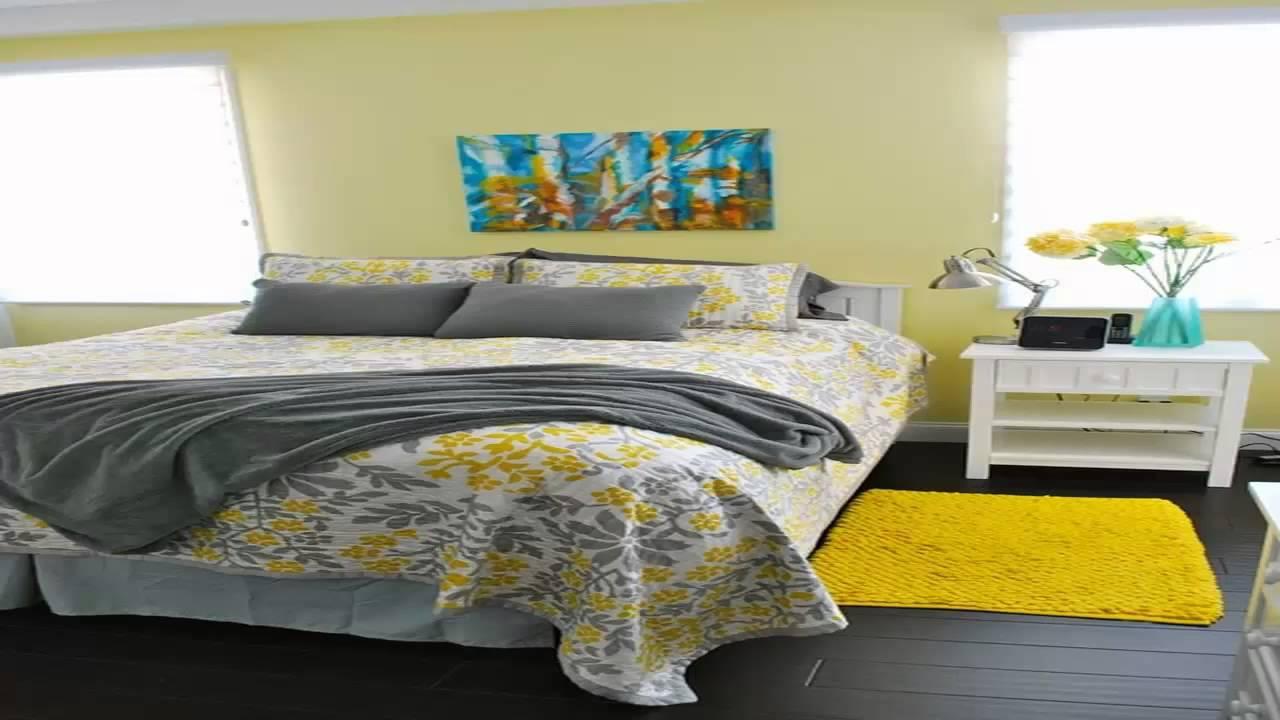 اللون الاصفر في ديكورات غرف النوم       YouTube