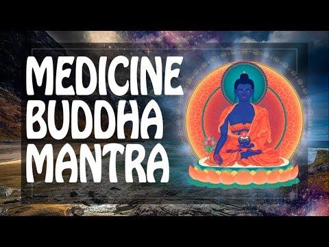 Medicine mantra of Buddha Healing Mantra 108 (!) times Repeat 佛 ॐ Powerful Mantras 2018