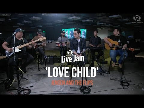 Jensen and the Flips – 'Love Child'