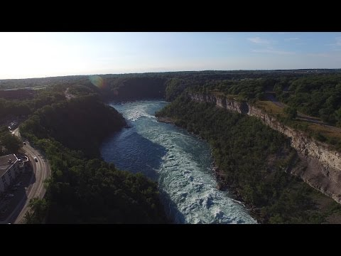 Raw 4K Footage: Niagara River Class 6 Rapids