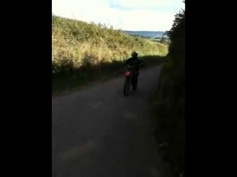 ktm 125 sx mini hill climb - youtube