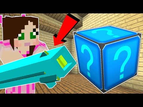 Minecraft: CRYSTAL LUCKY BLOCK!!! (WORLD ENDING WEAPONS, CRAZY GLOVES, & MORE!) Mod Showcase