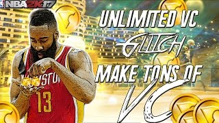 NBA 2K17 VC GLITCH: FAST & EASY UNLIMITED VC GLITCH!  HOW TO GET VC SECRETS NOBODY WANTS YOU TO KNOW