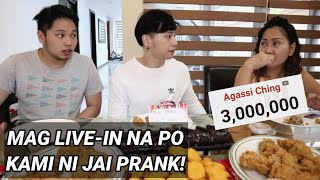 3 MILLION SUBSCRIBERS + MAG LIVE IN KAMI NI JAI PRANK KAY MOMMY!