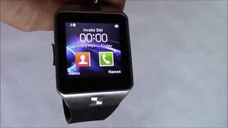 How To Install A SIM Card And Memory Card On The DZ09 Smartwatch Phone