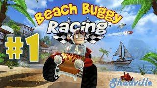 Beach Buggy Racing (PS4) Проходження гри #1: Пляжні гонки на баггі