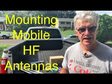 Mobile HF Installation Part 1
