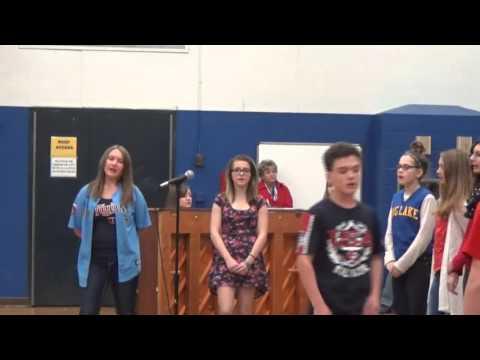Big Lake Middle School Choir
