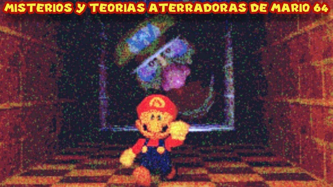 Misterios y Teorías MACABRAS de Super Mario 64 - Pepe el Mago