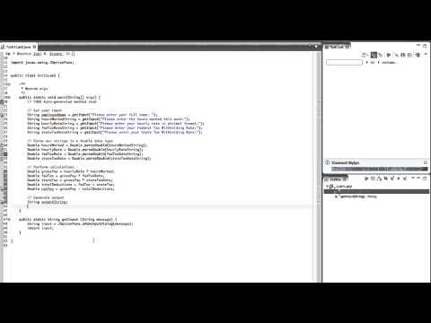 SD1420 Unit 2 Lab 2 Create a Payroll Program in JAVA