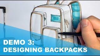 Demo 3: Backpack: indicating soft materials