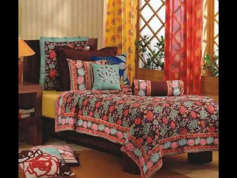 Indian Home Furnishings Handmade Textiles Indian Handicrafts Pearl Art Exports Youtube