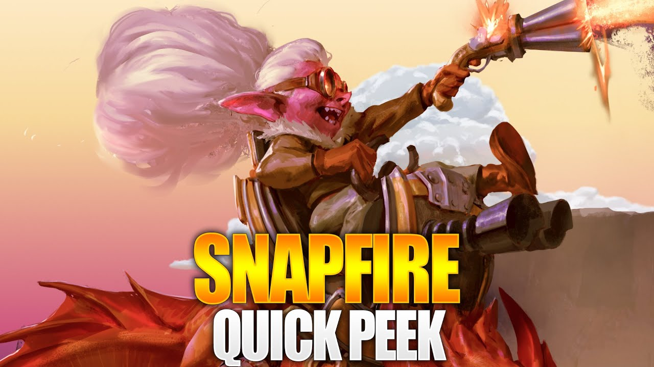 Dota 2 Quick Peek - Snapfire thumbnail
