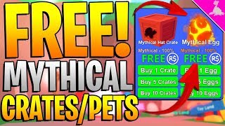 FREE MYTHICAL ROBLOX MINING SIMULATOR ITEMS!! *HOW TO GET!*