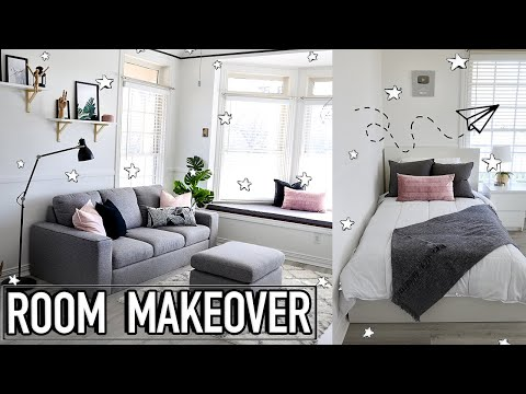 EXTREME ROOM MAKEOVER + New Room Tour