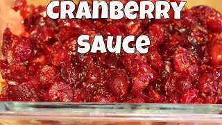 The Easiest Homemade Cranberry Sauce Ever With Linda's Pantry
