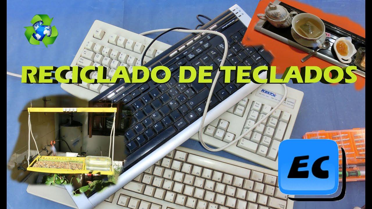 Que podemos hacer con un teclado viejo reciclado desafio - Que puedo hacer con un palet ...